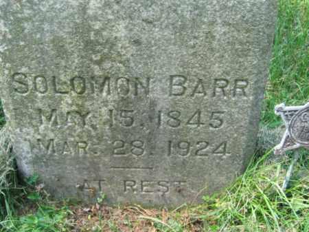 BARR (CW), SOLOMON - Lehigh County, Pennsylvania | SOLOMON BARR (CW) - Pennsylvania Gravestone Photos