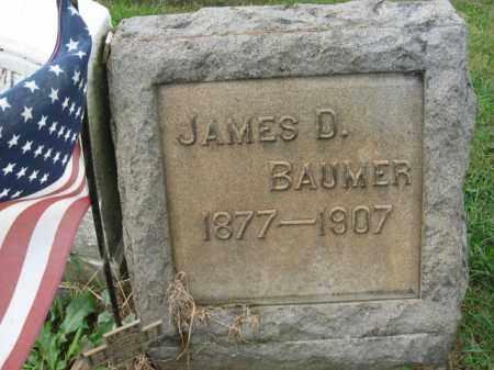 BAUMER, JAMES D. - Lehigh County, Pennsylvania | JAMES D. BAUMER - Pennsylvania Gravestone Photos
