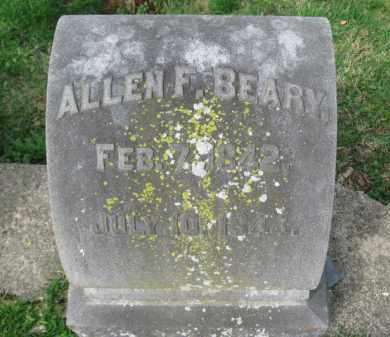 BEARY, ALLEN F. - Lehigh County, Pennsylvania | ALLEN F. BEARY - Pennsylvania Gravestone Photos