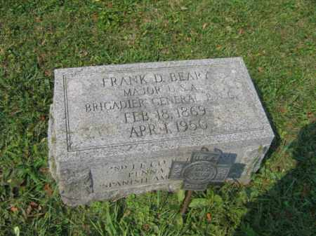 BEARY, GENERAL FRANK D. - Lehigh County, Pennsylvania | GENERAL FRANK D. BEARY - Pennsylvania Gravestone Photos