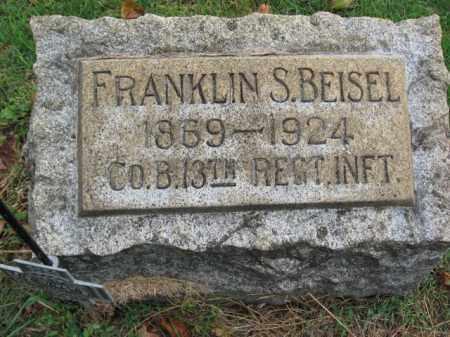 BEISEL, FRANKLIN S. - Lehigh County, Pennsylvania   FRANKLIN S. BEISEL - Pennsylvania Gravestone Photos