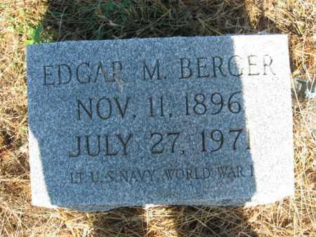 BERGER, EDGAR M. - Lehigh County, Pennsylvania   EDGAR M. BERGER - Pennsylvania Gravestone Photos