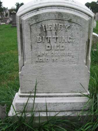BITTING, HENRY - Lehigh County, Pennsylvania | HENRY BITTING - Pennsylvania Gravestone Photos