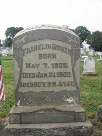 BOWER, PVT.FRANKLIN - Lehigh County, Pennsylvania   PVT.FRANKLIN BOWER - Pennsylvania Gravestone Photos