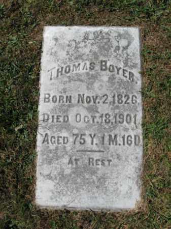 BOYER, THOMAS - Lehigh County, Pennsylvania | THOMAS BOYER - Pennsylvania Gravestone Photos