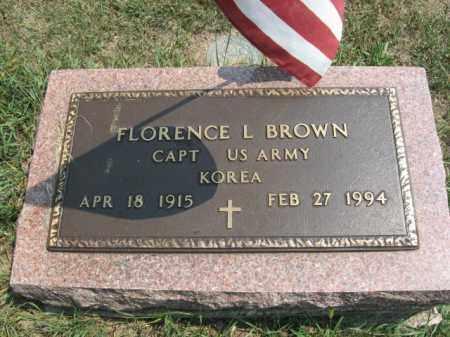 BROWN, FLORENCE  L. - Lehigh County, Pennsylvania | FLORENCE  L. BROWN - Pennsylvania Gravestone Photos