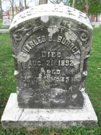 BURDGE, CHARLS B. - Lehigh County, Pennsylvania | CHARLS B. BURDGE - Pennsylvania Gravestone Photos