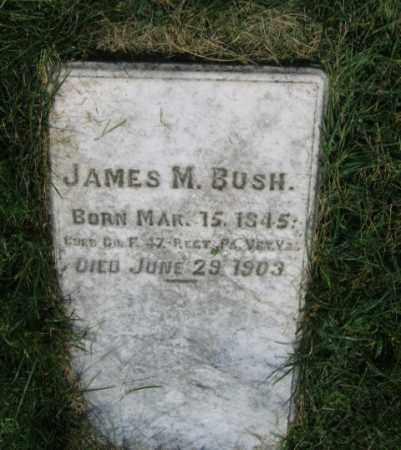 BUSH, CORP.JAMES M. - Lehigh County, Pennsylvania | CORP.JAMES M. BUSH - Pennsylvania Gravestone Photos