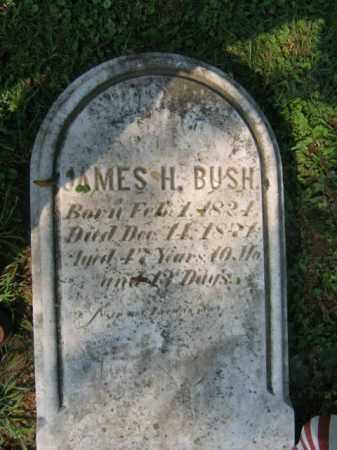 BUSH, JAMES H. - Lehigh County, Pennsylvania   JAMES H. BUSH - Pennsylvania Gravestone Photos
