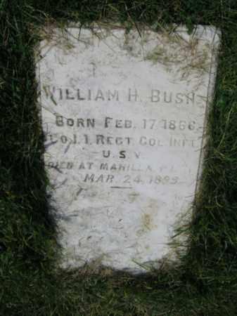 BUSH, WILLIAM H. - Lehigh County, Pennsylvania   WILLIAM H. BUSH - Pennsylvania Gravestone Photos