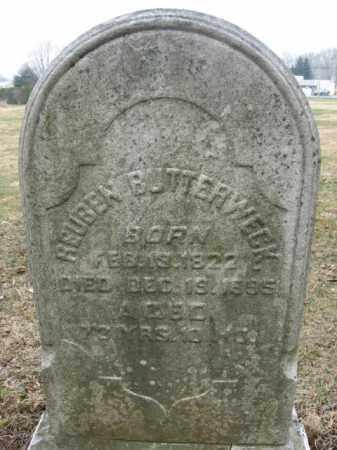 BUTTERWECK, REUBEN - Lehigh County, Pennsylvania   REUBEN BUTTERWECK - Pennsylvania Gravestone Photos