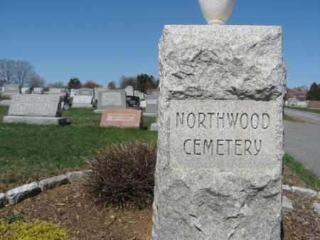 CEMETERY SIGN, NORTHWOOD - Lehigh County, Pennsylvania   NORTHWOOD CEMETERY SIGN - Pennsylvania Gravestone Photos