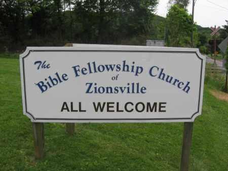 CHURCH CEMETERY SIGN, BIBLE FELLOWSHIP - Lehigh County, Pennsylvania   BIBLE FELLOWSHIP CHURCH CEMETERY SIGN - Pennsylvania Gravestone Photos
