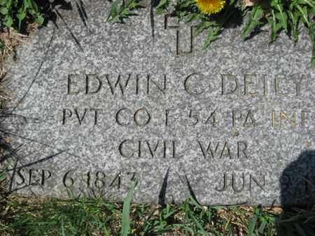 DEILY  (CW), PVT. EDWIN C. - Lehigh County, Pennsylvania   PVT. EDWIN C. DEILY  (CW) - Pennsylvania Gravestone Photos