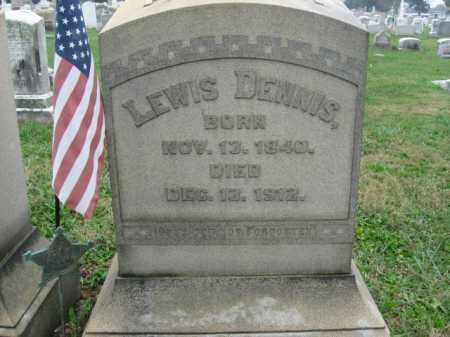 DENNIS, LEWIS - Lehigh County, Pennsylvania | LEWIS DENNIS - Pennsylvania Gravestone Photos
