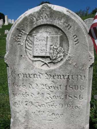 DENRITZ, CONRAD - Lehigh County, Pennsylvania   CONRAD DENRITZ - Pennsylvania Gravestone Photos