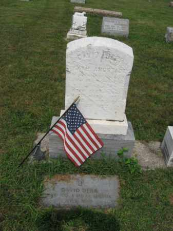 DERR, DAVID - Lehigh County, Pennsylvania | DAVID DERR - Pennsylvania Gravestone Photos