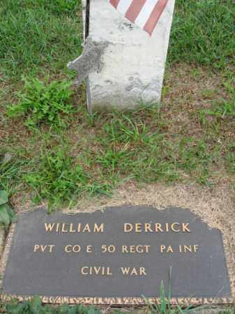 DERRICK, WILLIAM - Lehigh County, Pennsylvania | WILLIAM DERRICK - Pennsylvania Gravestone Photos