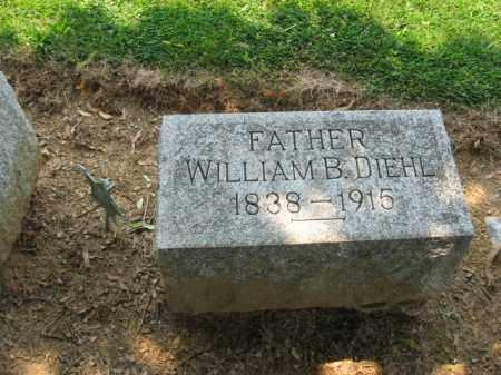 DIEHL, WILLIAM B. - Lehigh County, Pennsylvania | WILLIAM B. DIEHL - Pennsylvania Gravestone Photos