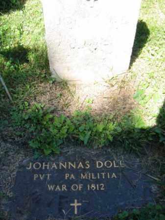 DOLL, JOHANNAS - Lehigh County, Pennsylvania | JOHANNAS DOLL - Pennsylvania Gravestone Photos