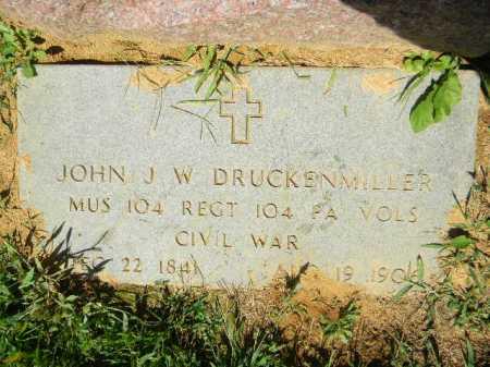 DRUCKENMILLER (CW), JOHN J.W. - Lehigh County, Pennsylvania | JOHN J.W. DRUCKENMILLER (CW) - Pennsylvania Gravestone Photos