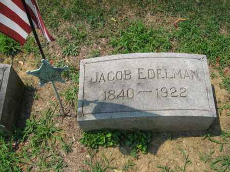 EDELMAN (CW), JACOB - Lehigh County, Pennsylvania   JACOB EDELMAN (CW) - Pennsylvania Gravestone Photos