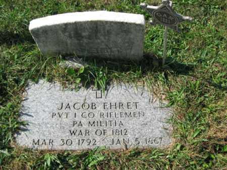 EHRET, JACOB - Lehigh County, Pennsylvania | JACOB EHRET - Pennsylvania Gravestone Photos