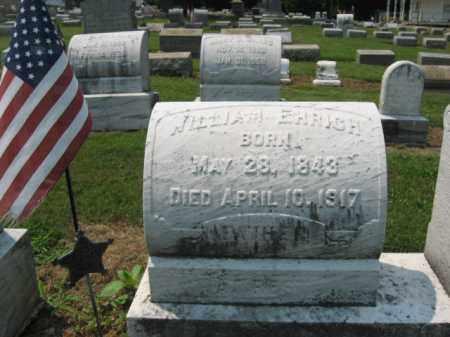 EHRICH (CW), WILLIAM - Lehigh County, Pennsylvania | WILLIAM EHRICH (CW) - Pennsylvania Gravestone Photos