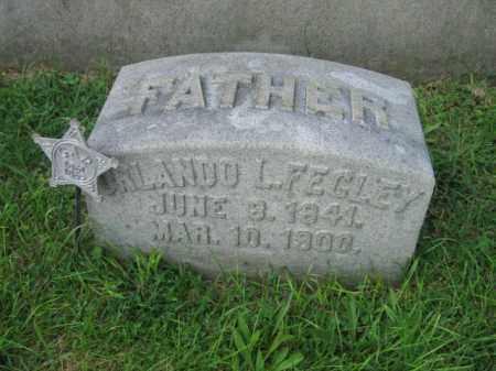 FEGLEY, ORLANDO L. - Lehigh County, Pennsylvania | ORLANDO L. FEGLEY - Pennsylvania Gravestone Photos