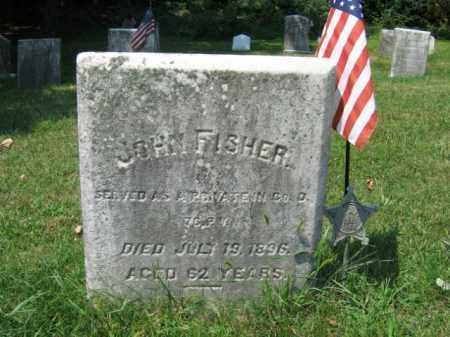 FISHER, JOHN - Lehigh County, Pennsylvania | JOHN FISHER - Pennsylvania Gravestone Photos