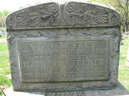 FREY (CW), WILLIAM - Lehigh County, Pennsylvania | WILLIAM FREY (CW) - Pennsylvania Gravestone Photos