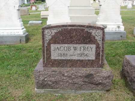FREY, JACOB   W - Lehigh County, Pennsylvania | JACOB   W FREY - Pennsylvania Gravestone Photos