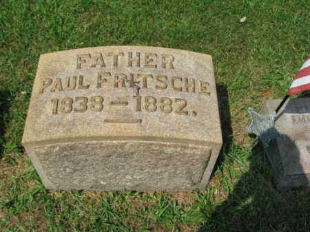 FRITSCHE (CW), PAUL - Lehigh County, Pennsylvania | PAUL FRITSCHE (CW) - Pennsylvania Gravestone Photos