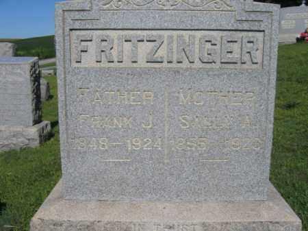 FRITZINGER  (CW), FRANK (FRANKLIN) J. - Lehigh County, Pennsylvania | FRANK (FRANKLIN) J. FRITZINGER  (CW) - Pennsylvania Gravestone Photos