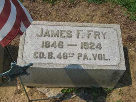 FRY (CW), JAMES - Lehigh County, Pennsylvania | JAMES FRY (CW) - Pennsylvania Gravestone Photos