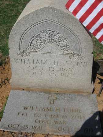 FUHR (CW), PVT. WILLIAM H. - Lehigh County, Pennsylvania | PVT. WILLIAM H. FUHR (CW) - Pennsylvania Gravestone Photos