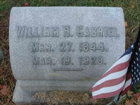 GABRIEL (CW), WILLIAM H. - Lehigh County, Pennsylvania | WILLIAM H. GABRIEL (CW) - Pennsylvania Gravestone Photos