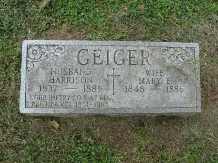 GEIGER, CORP. HARRISON - Lehigh County, Pennsylvania   CORP. HARRISON GEIGER - Pennsylvania Gravestone Photos