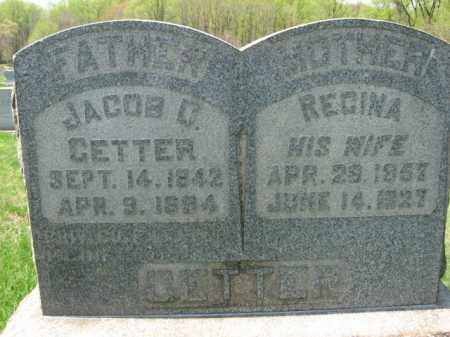 GETTER (CW), JACOB D, - Lehigh County, Pennsylvania | JACOB D, GETTER (CW) - Pennsylvania Gravestone Photos
