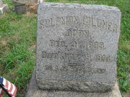 GILDNER, SOLOMON - Lehigh County, Pennsylvania | SOLOMON GILDNER - Pennsylvania Gravestone Photos