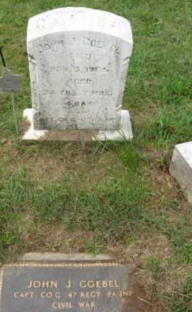 GOEBEL, CAPT. JOHN J. - Lehigh County, Pennsylvania   CAPT. JOHN J. GOEBEL - Pennsylvania Gravestone Photos