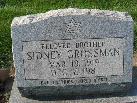 GROSSMAN, SIDNEY - Lehigh County, Pennsylvania   SIDNEY GROSSMAN - Pennsylvania Gravestone Photos