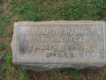 HAMMERSLY, CAPT.JAMES B. - Lehigh County, Pennsylvania | CAPT.JAMES B. HAMMERSLY - Pennsylvania Gravestone Photos