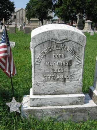 HANDSCHUH, FREDERICK       L. - Lehigh County, Pennsylvania   FREDERICK       L. HANDSCHUH - Pennsylvania Gravestone Photos