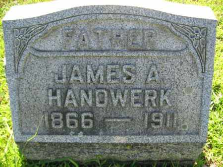 HANDWERK, JAMES A. - Lehigh County, Pennsylvania | JAMES A. HANDWERK - Pennsylvania Gravestone Photos