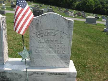 HARTZELL (CW), GEORGE  W. - Lehigh County, Pennsylvania | GEORGE  W. HARTZELL (CW) - Pennsylvania Gravestone Photos