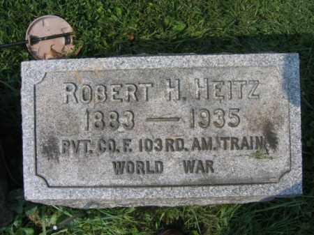 HEITZ, ROBERT H. - Lehigh County, Pennsylvania | ROBERT H. HEITZ - Pennsylvania Gravestone Photos
