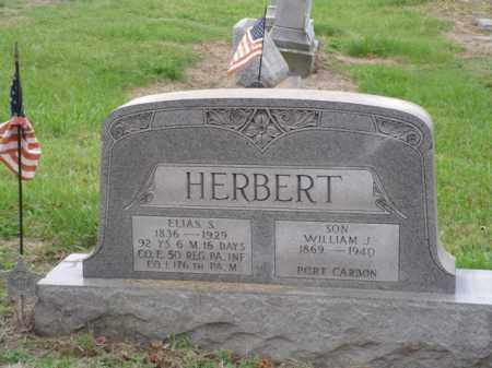 HERBERT, WILLIAM J. - Lehigh County, Pennsylvania | WILLIAM J. HERBERT - Pennsylvania Gravestone Photos