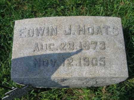 HOATS, EDWIN J. - Lehigh County, Pennsylvania | EDWIN J. HOATS - Pennsylvania Gravestone Photos