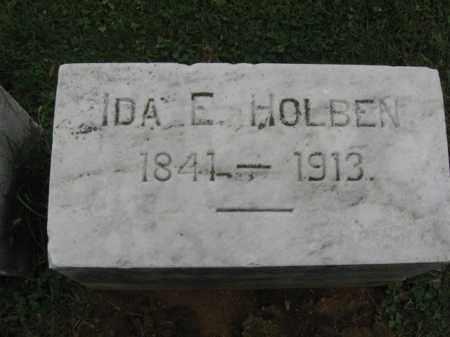HOLBEN, IDA  E. - Lehigh County, Pennsylvania | IDA  E. HOLBEN - Pennsylvania Gravestone Photos